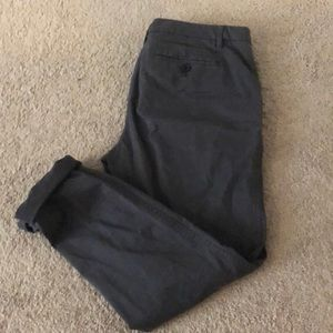 Grey business casual pants